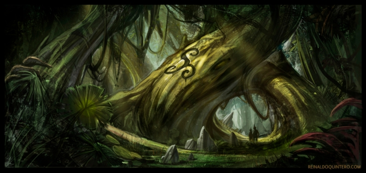 deep_in_the_woods_by_reiquintero-d4xlul7
